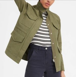 Everlane Modern Utlity Jacket Green Surplus S